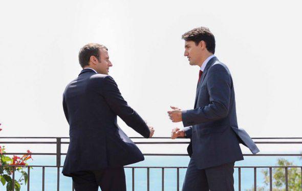 Justin Trudeau – Emmanuel Macron: Το νέο αγαπημένο «ζευγάρι» των social media