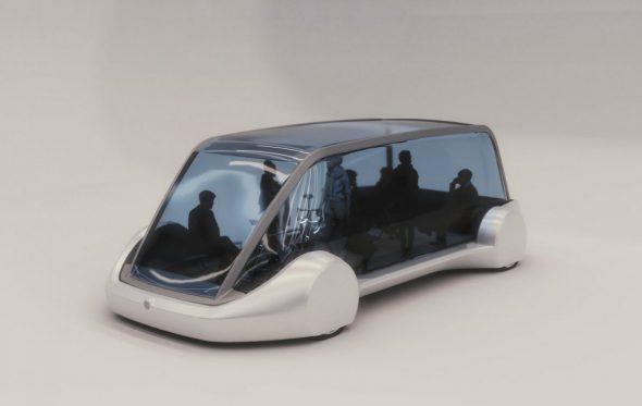 Έτσι θα μοιάζουν τα «υπόγεια» αυτοκίνητα του Elon Musk