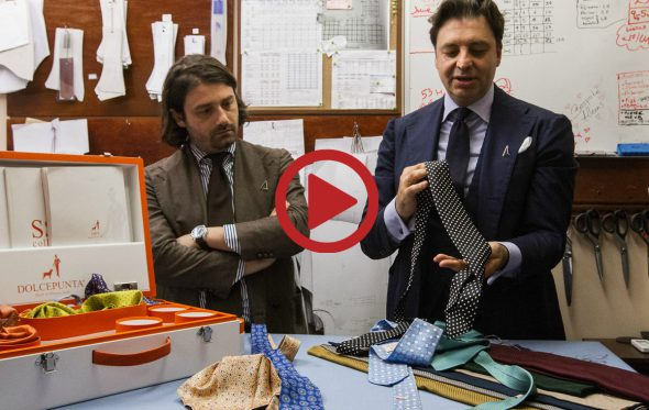 Τα μυστικά της χειροποίητης γραβάτας στο νέο video των ARTISANS