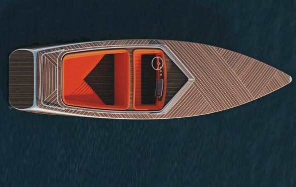 Zebra Boat: Ένα minimal έργο τέχνης που επιπλέει