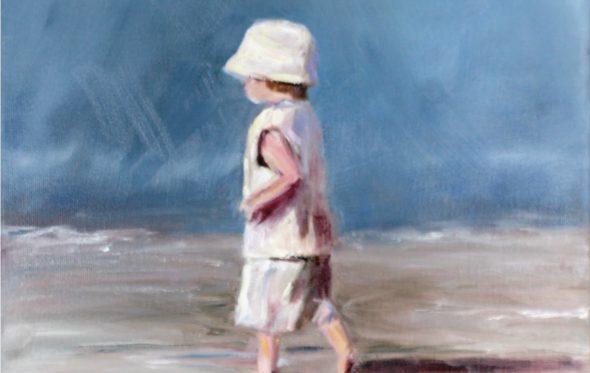 Γιώργος Μαρκόπουλος, «Σε μια παραλία το 1960»