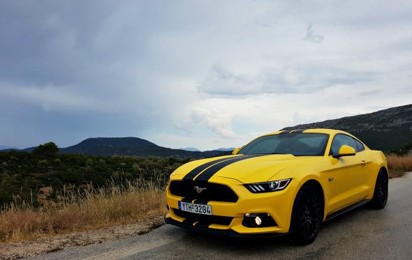 Driven: Ford Mustang 5.0 V8 GT. Life's been good