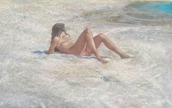 Οι γυμνές βουτιές της Μαρίας Φιλοπούλου στο γαλάζιο