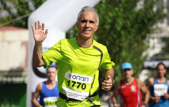 Αντώνης Κυπραίος: «Αν δεν τρέξω μια ημέρα αισθάνομαι ένα κενό μέσα μου»
