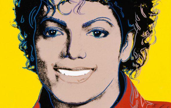 Ο Michael Jackson στον τοίχο