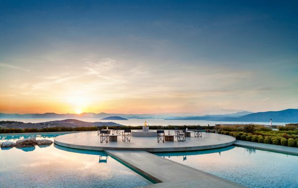 Το Amanzoe στο Κρανίδι 4o καλύτερο ξενοδοχείο της Ευρώπης, για τους αναγνώστες του Condé Nast Traveller