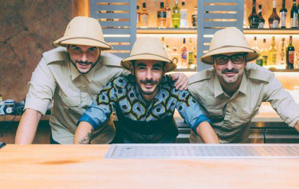 Meerkat Cocktail Safari: Ο Romain Krot άφησε το Παρίσι για να φτιάχνει ευφάνταστα κοκτέιλ στο Κουκάκι