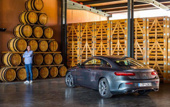 Με τη Mercedes-Benz στους δρόμους του κρασιού: στο Κτήμα Σκούρα με τη νέα E-Class Coupé
