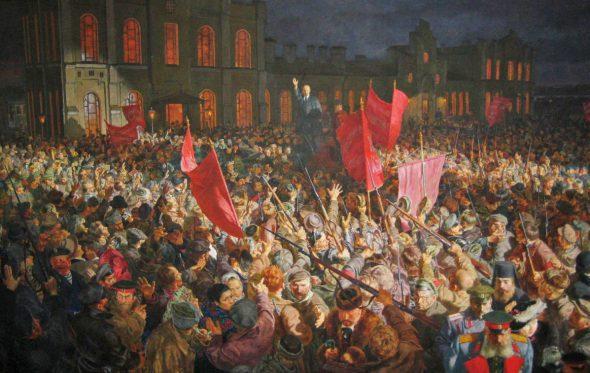 Στα χνάρια της Ρωσικής Επανάστασης του 1917