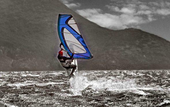 Σωτήρης Λυμπερόπουλος: «Πώς το windsurf μου άλλαξε τη ζωή»