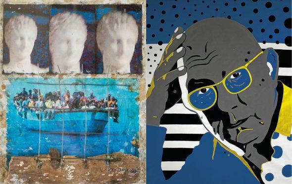 Έτσι βλέπουν οι καλλιτέχνες την Αθήνα της κρίσης
