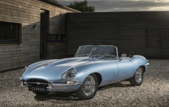Η Jaguar ταξιδεύει την E-Type στο μέλλον
