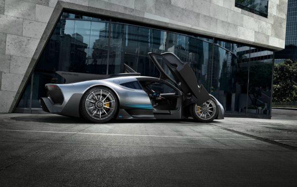 Mercedes-AMG Project ONE: Ένα τετράτροχο της Formula 1 στους δρόμους