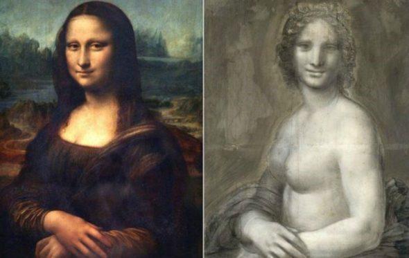 Η Mona Lisa του Leonardo da Vinci ήταν γυμνή;