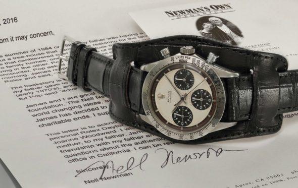 Αυτό είναι το Rolex Daytona που φορούσε ο Paul Newman για 16 χρόνια και πουλήθηκε σε τιμή-ρεκόρ