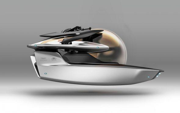 Το νέο project της Aston Martin μοιάζει βγαλμένο από βιβλίο του Ιουλίου Βερν