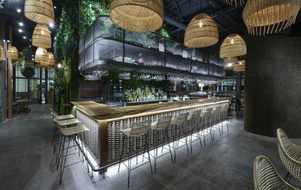Αρχιτεκτονική: Το Looney Bean είναι ένα «δάσος» με θέα όλη τη Θεσσαλονίκη