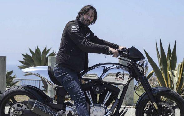 Οι άγριες και πανάκριβες custom μηχανές του Keanu Reeves