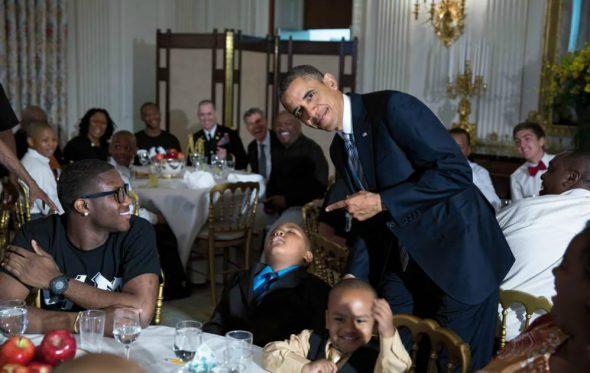 Μια μέρα στη ζωή του Barack Obama