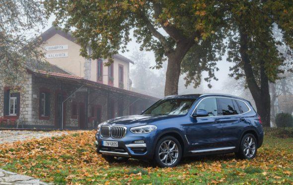 Πρεμιέρα στα Καλάβρυτα για τις νέες BMW X3 και Σειρά 6 GT