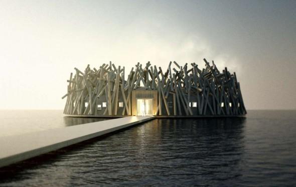 Arctic Bath Hotel & Spa: Θαυμάζοντας το βόρειο σέλας στο πλωτό ξενοδοχείο της Αρκτικής