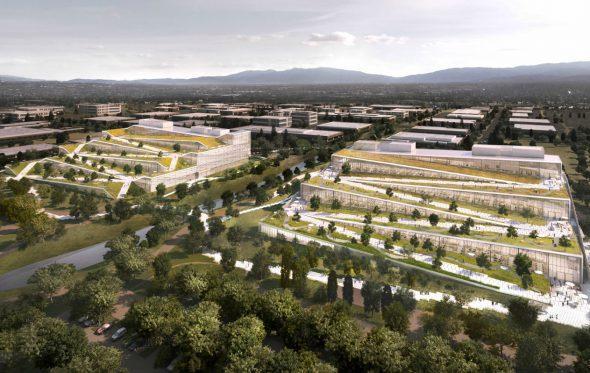 Έτσι φαντάζεται η Google το νέο της επικό αρχηγείο στην Καλιφόρνια