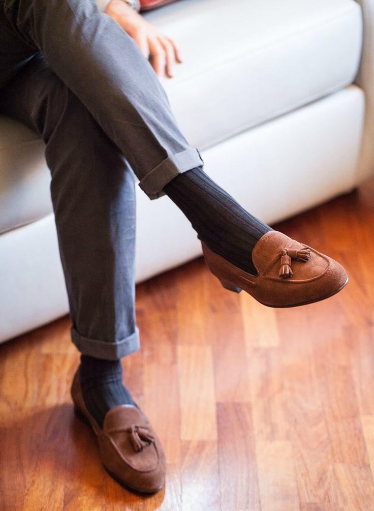 6e0538be3080d7b8b3eceb4b1b145977--tie-shoes-tassel-loafers  283a92ab187