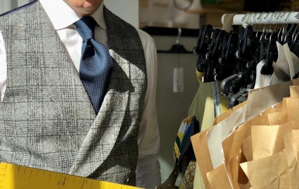Η αυθεντική γραβάτα Garza για πρώτη φορά στην Ελλάδα από τον οίκο ΚΥΔΟΣ