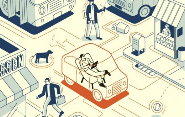 Ενώ τσακωνόμαστε για τα ταξί, έφτασε το μέλλον χωρίς αυτοκίνητο (και χωρίς οδηγό)