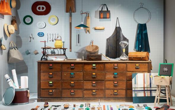 La Quincaillerie: το luxury «χρωματοπωλείο» του οίκου Hermès