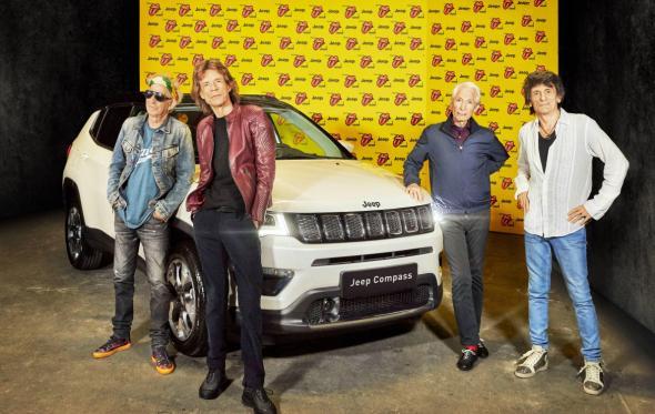 Rolling Stones και Jeep επί σκηνής. Με το ίδιο εισιτήριο