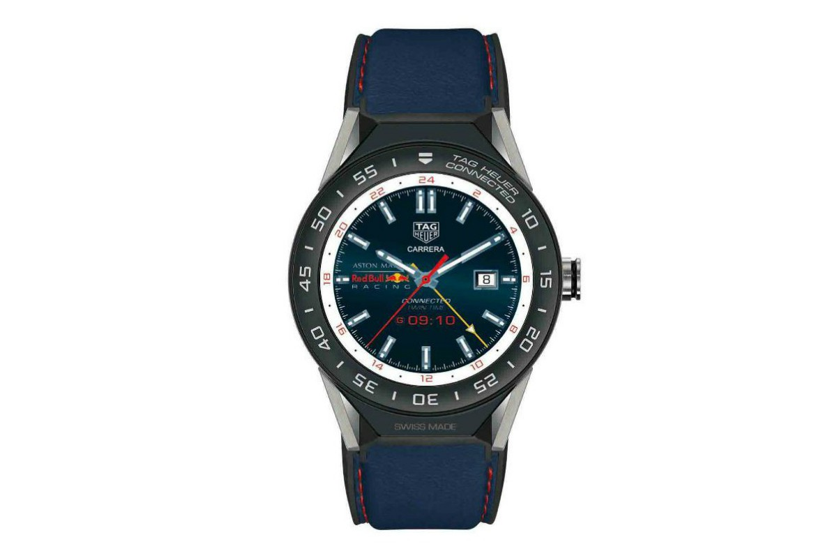 d03f83c914 TAG Heuer Connected Modular 45 Aston Martin Red Bull Racing Special ...