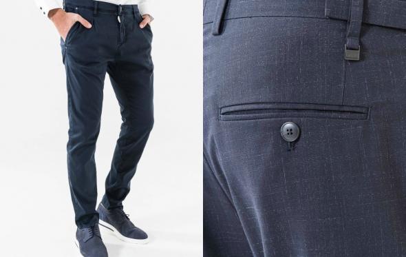 Τα «carrot fit» παντελόνια Antony Morato γεφυρώνουν έξυπνα το casual με το formal