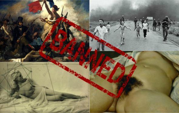 Facebook: τέχνη, γυναίκες και βλακεία
