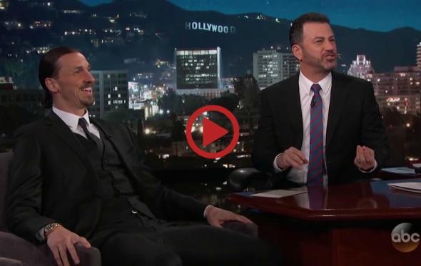 Η συνέντευξη του Zlatan Ibrahimović στον Jimmy Kimmel είναι σκέτη μαγεία