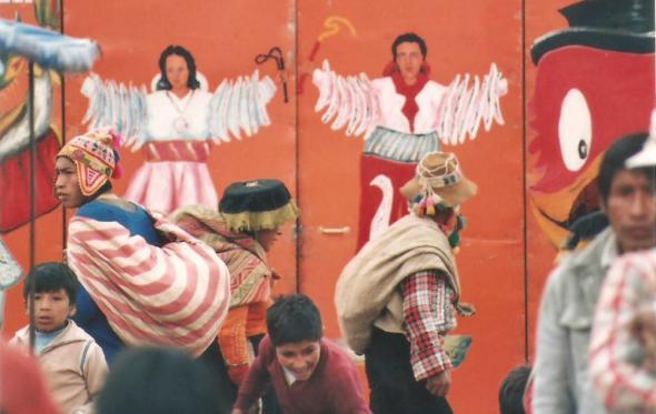 Μια Κυριακή σε ένα θέατρο μαριονέτας στο Περού