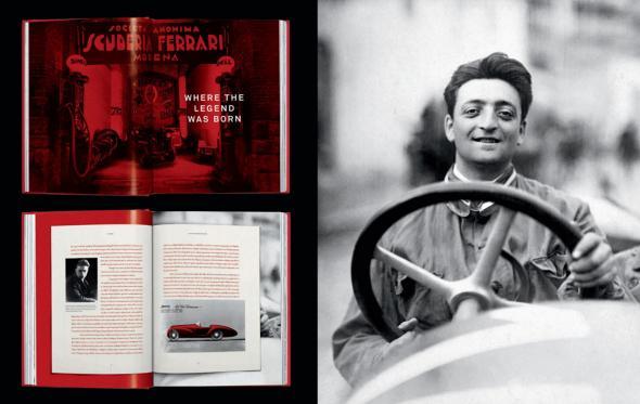 Όλη η ιστορία της Ferrari μέσα σε ένα συλλεκτικό βιβλίο