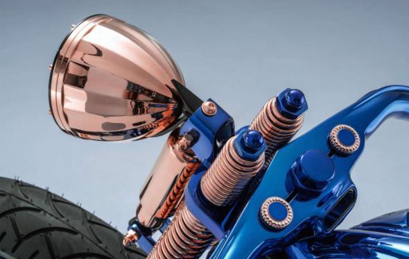 Bucherer Harley-Davidson Blue Edition: Αυτή είναι η πιο ακριβή μηχανή που κατασκευάστηκε ποτέ