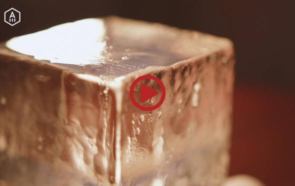 Τα Μυστικά του Artisan Bartender: Η τέχνη του πάγου, από τον Αλέξη Σιμωνίδη
