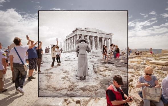 Η Αθήνα τότε και τώρα: ο Richard W. Moore ενώνει το φωτογραφικό παρελθόν με το σήμερα