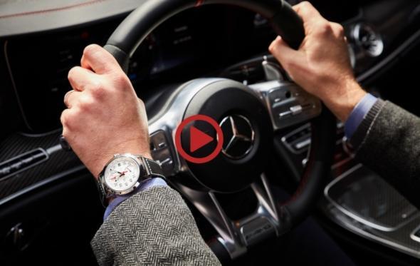Η πιο κομψή συνάντηση της χρονιάς: Ο CEO της IWC οδηγεί τη νέα Mercedes-AMG