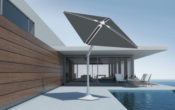 SunFlower 3.0: Μια έξυπνη ομπρέλα για το καλοκαίρι