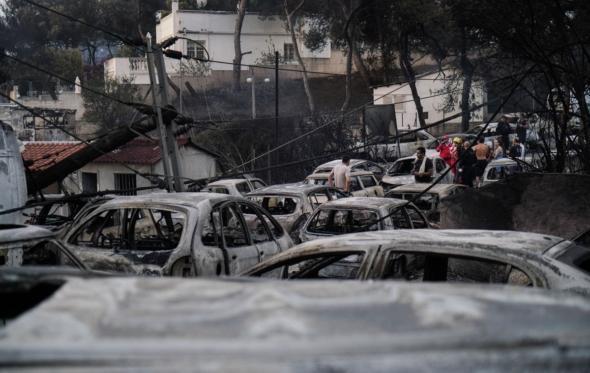 Εθνική τραγωδία: Δεκάδες νεκροί από φωτιές στην Ελλάδα του 2018