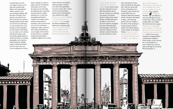 Η νύχτα πέφτει στο Βερολίνο της δεκαετίας του '20