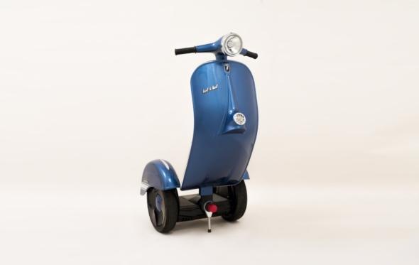 Z-Scooter: Μια «βέσπα» εντελώς διαφορετική από αυτή που έχεις στο μυαλό σου