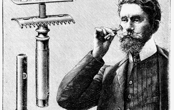 Μούσια και λεπίδες: η συναρπαστική ιστορία του ξυρίσματος μέσα στους αιώνες