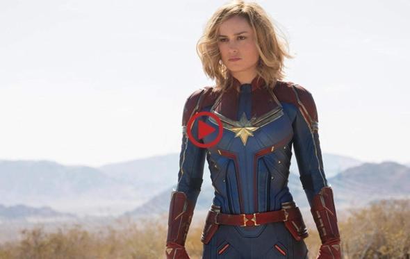 Αυτό είναι το πρώτο trailer για την Captain Marvel