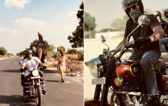Θανάσης Σοφιανός: Πώς γύρισε τη βόρεια Ινδία με μια Royal Enfield