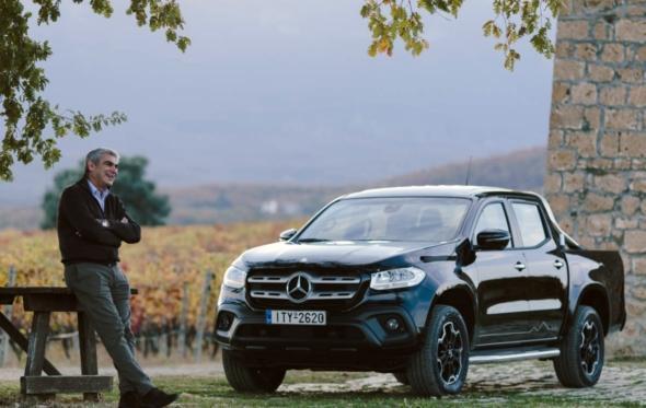 Με τη Mercedes-Benz στους δρόμους του κρασιού: Οδηγούμε την X-Class στο Κτήμα Κυρ-Γιάννη