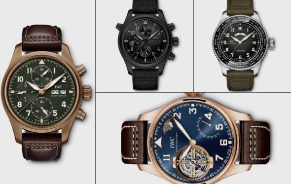 Pre SIHH λανσαρίσματα: Τα νέα Pilot's watches της IWC